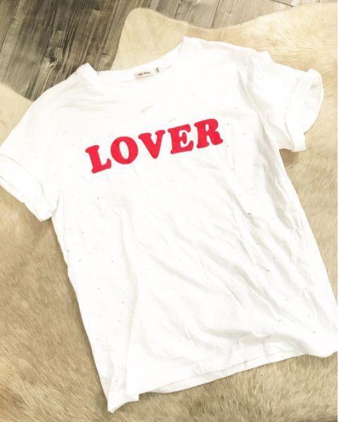 LOVER WHITE TEE