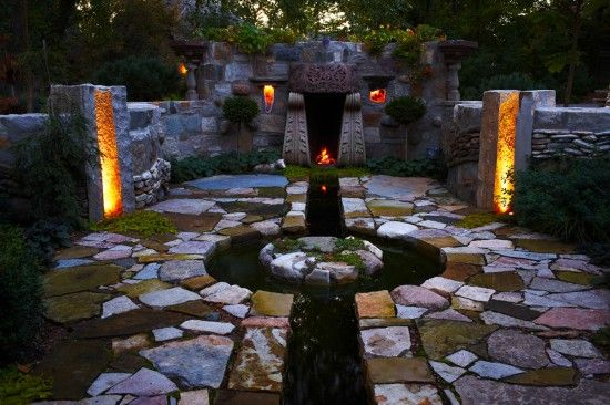 Fireplace | EARTHSCAPE STONEWORKS