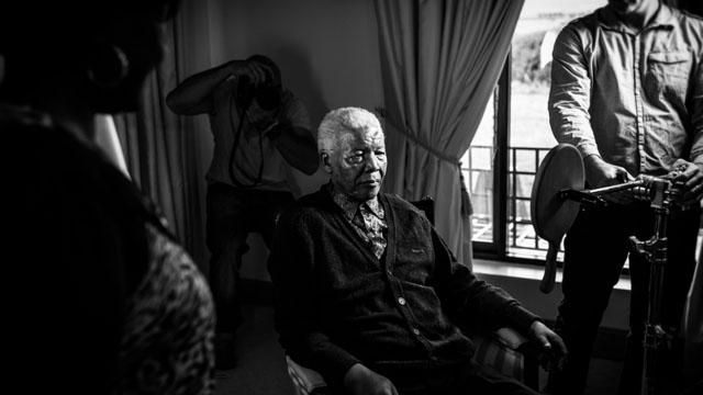 Nelson Mandela's Last Photo Shoot