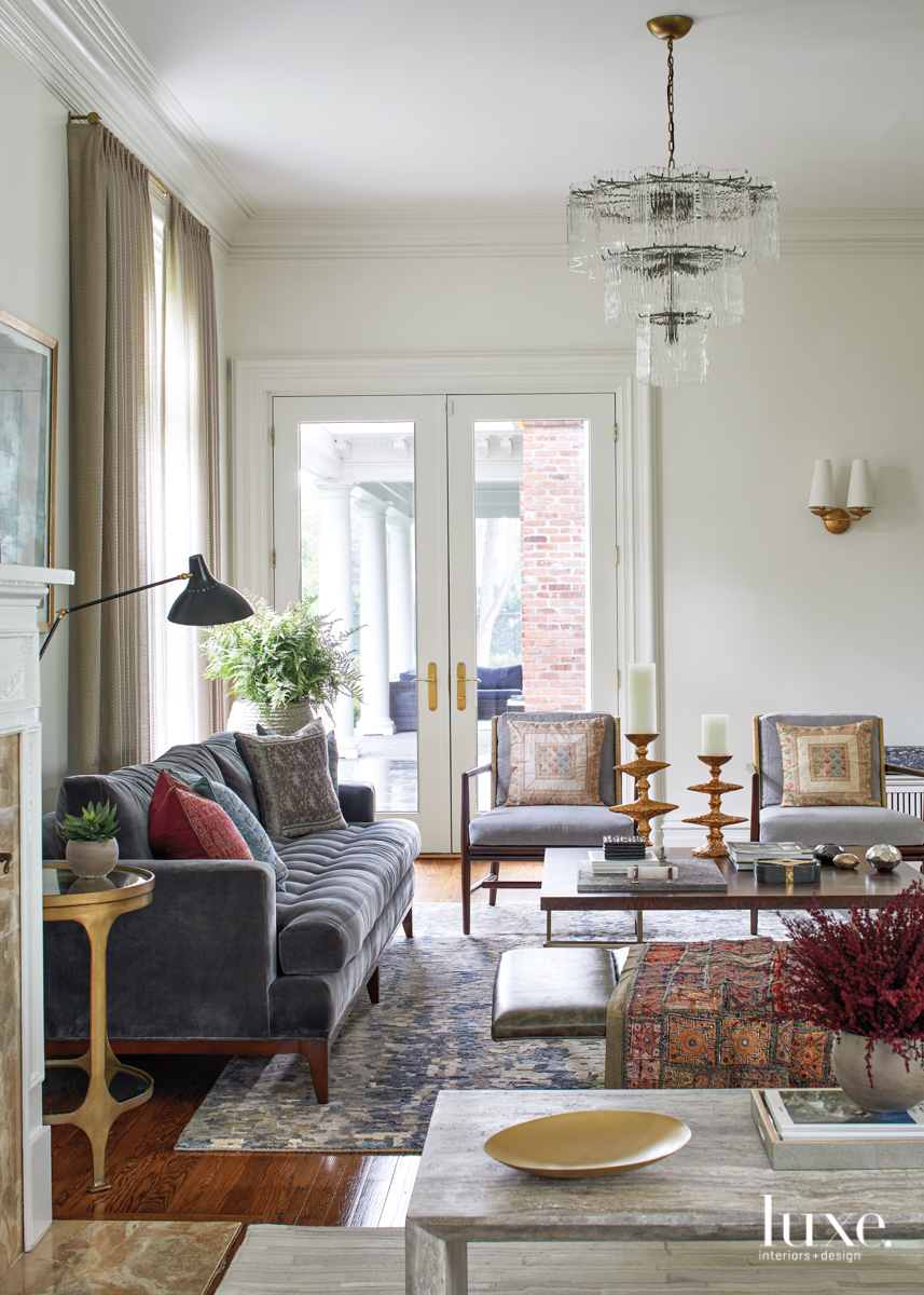 A Couple Updates A Victorian Home They Long Admired Luxe Interiors Design Interior Design Rectangular Living Rooms Victorian Interior