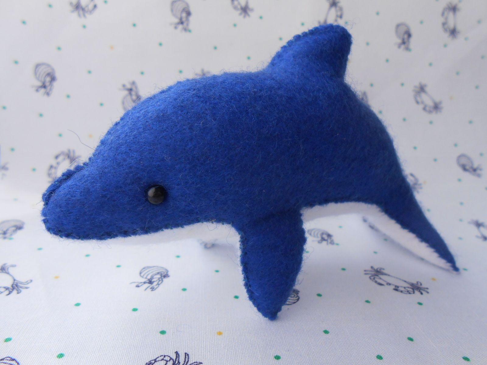 三枚ハギで海獣 <イルカ>の作り方|ぬいぐるみ|ぬいぐるみ・人形|アトリエ