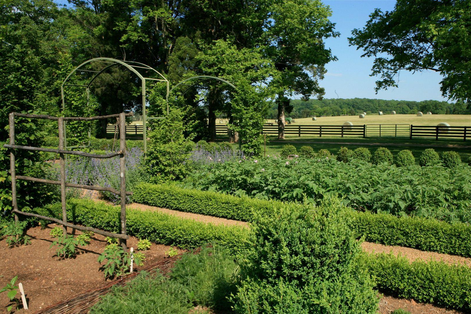 French Kitchen Garden Potager   Kitchen garden by Dawn Sarasin in ...