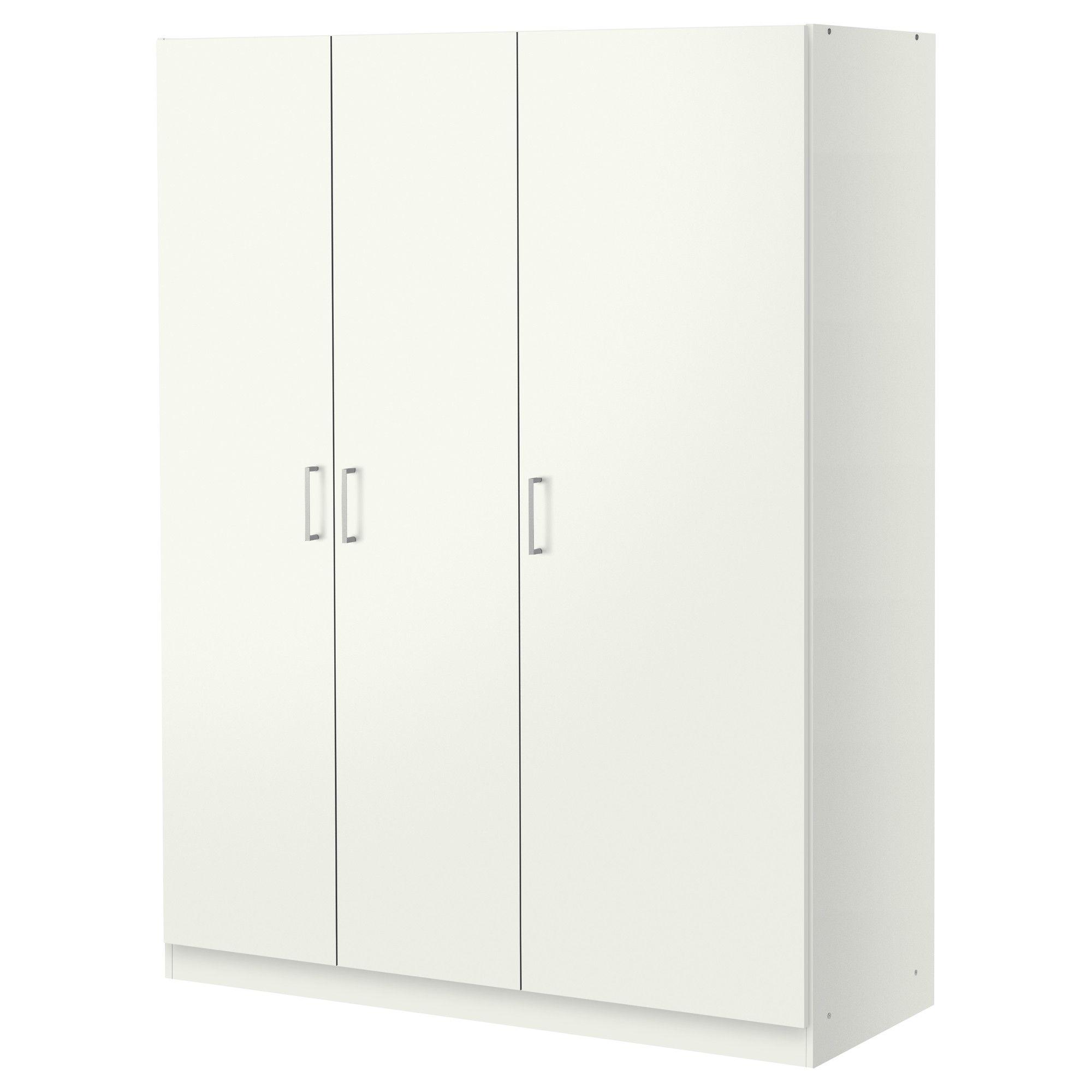 DOMBÅS Garderob, vit | Clothes rail, Shelves and Spaces