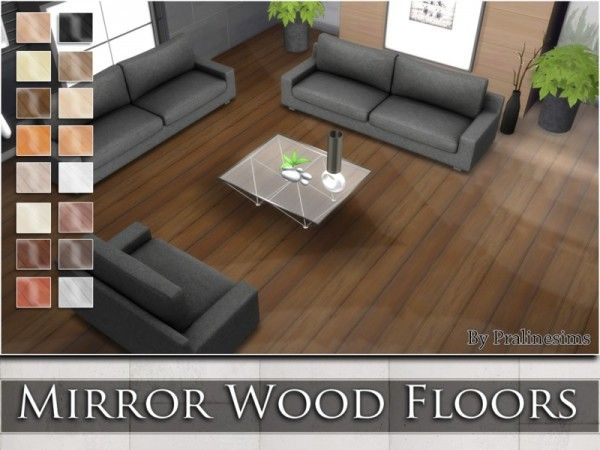 The Sims Resource Mirror Wood Floors by Praline Sims Sims 4 Downloads  SIMS  Sims 4 Sims 4