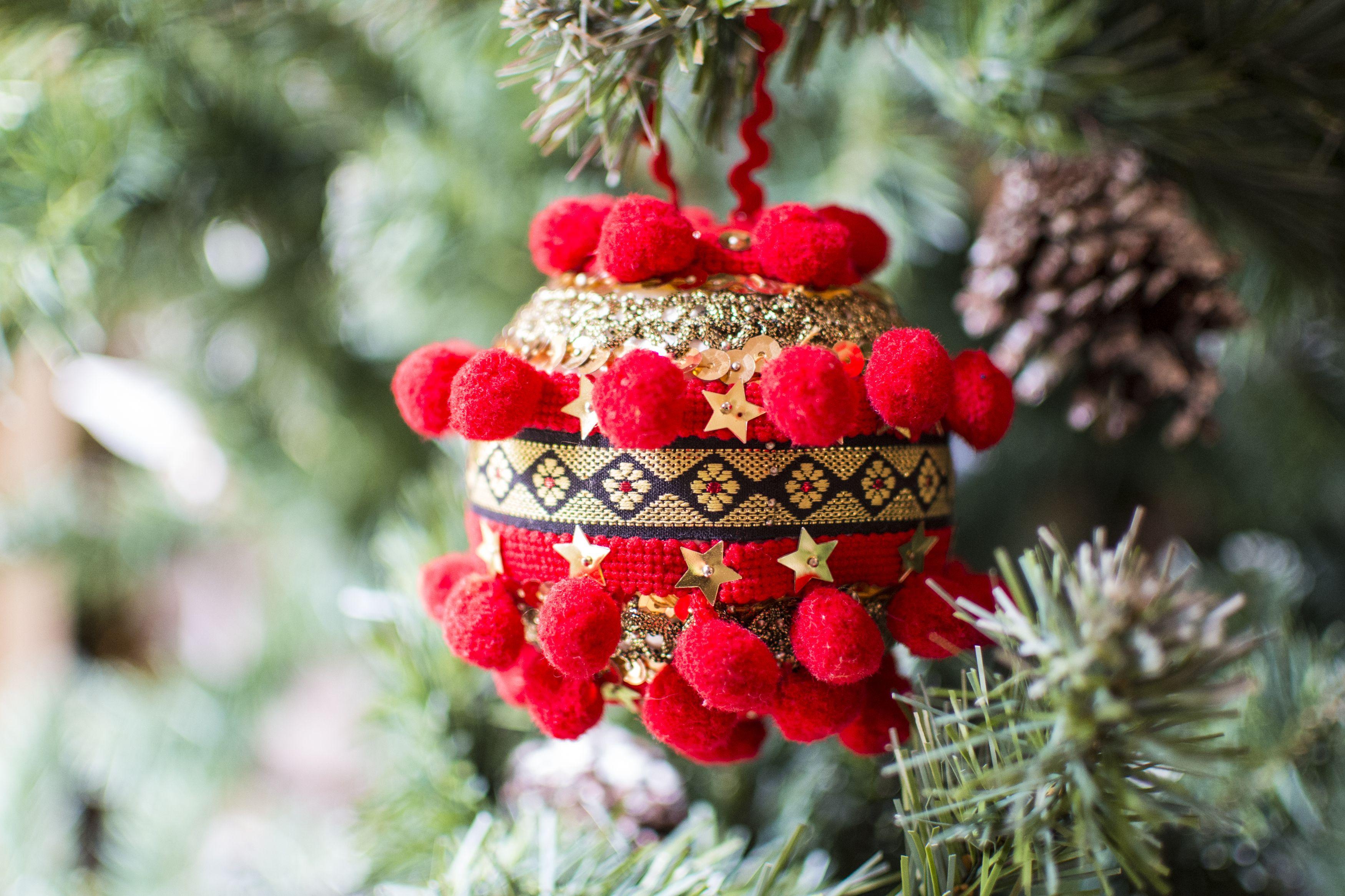 Bolas para el rbol for Decoracion navidena