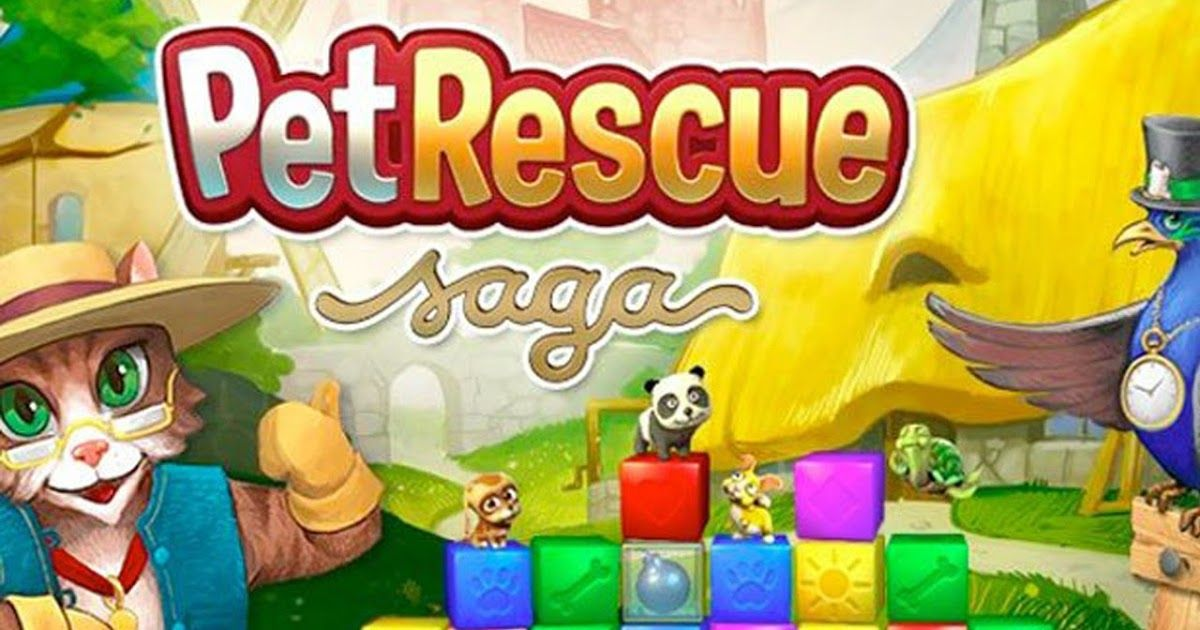 Free Download Pet Rescue Saga For Laptop Pc Desktop Windows