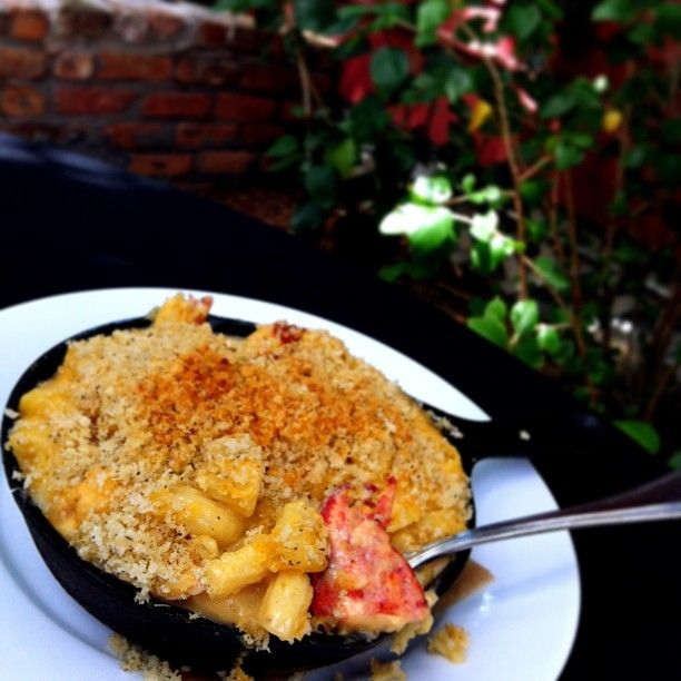 How About Some Deliciously Golden Overstuffed Lobster Mac N Cheese From Crossroads At House Of