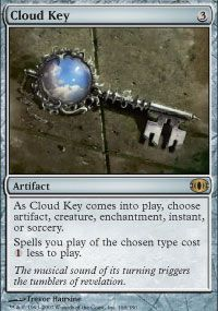 1 PLAYED Cloud Key Artifact Future Sight Mtg Magic Rare 1x x1