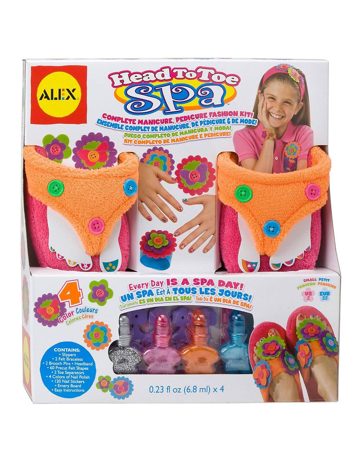 Head To Toe Spa-Asst for Boys & Girls - Toys at BirthdayInABox.com ...