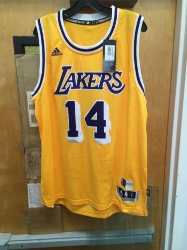 New Brandon Ingram Lakers Hardwood Classic Nights Jersey. Adult Large. b86a053a1