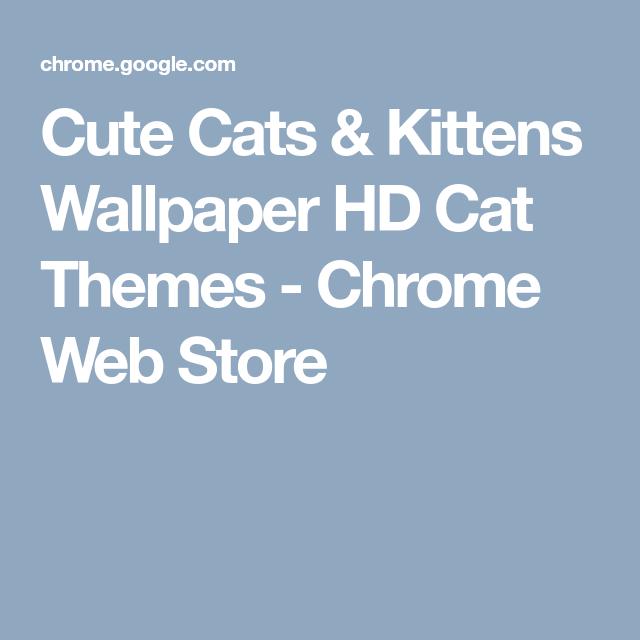 Cute Cats Kittens Wallpaper Hd Cat Themes Chrome Web Store Kitten Wallpaper Cute Cats And Kittens Cute Cats