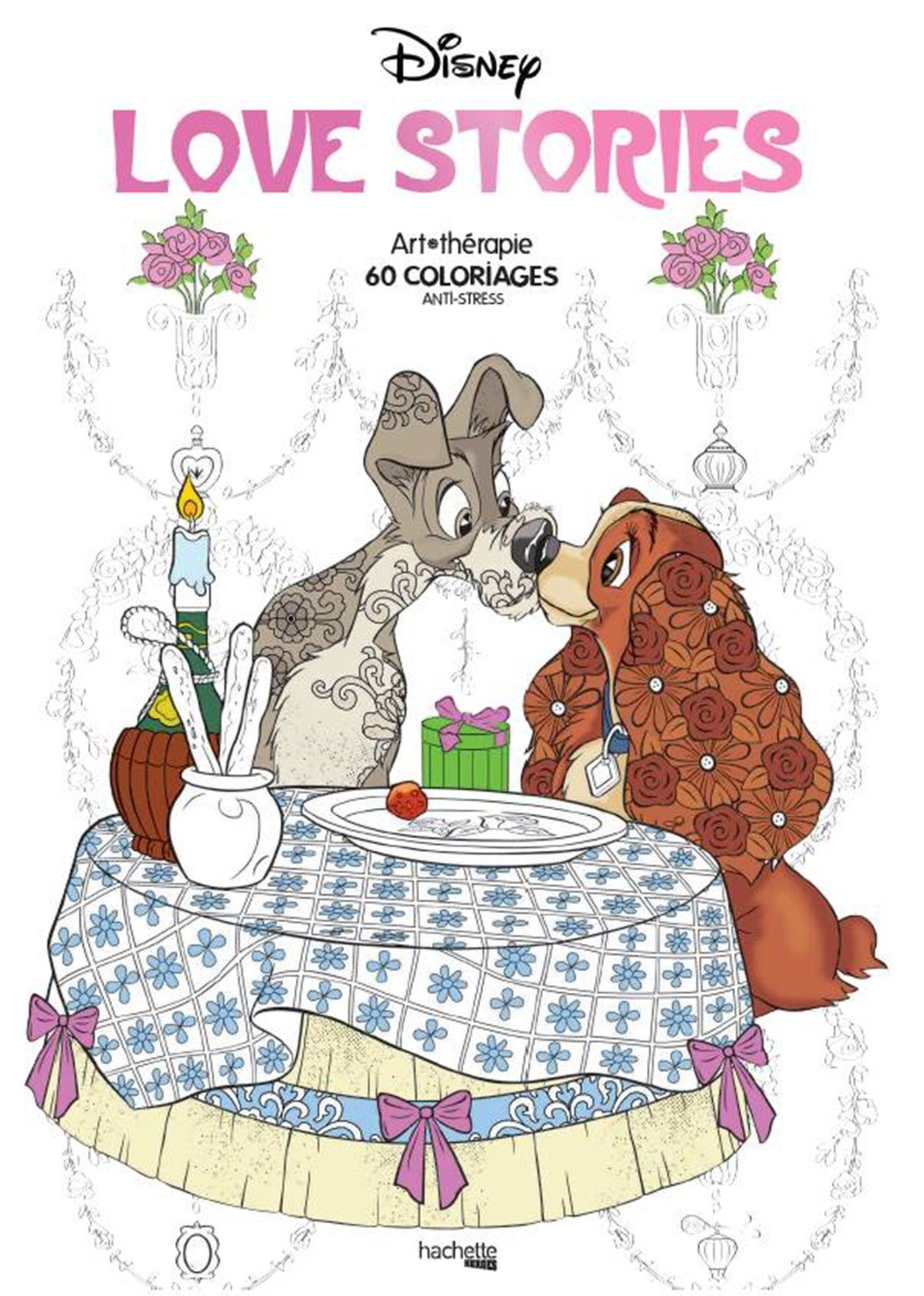 Disney Love Stories, tome 28  Coloring books, Disney love stories