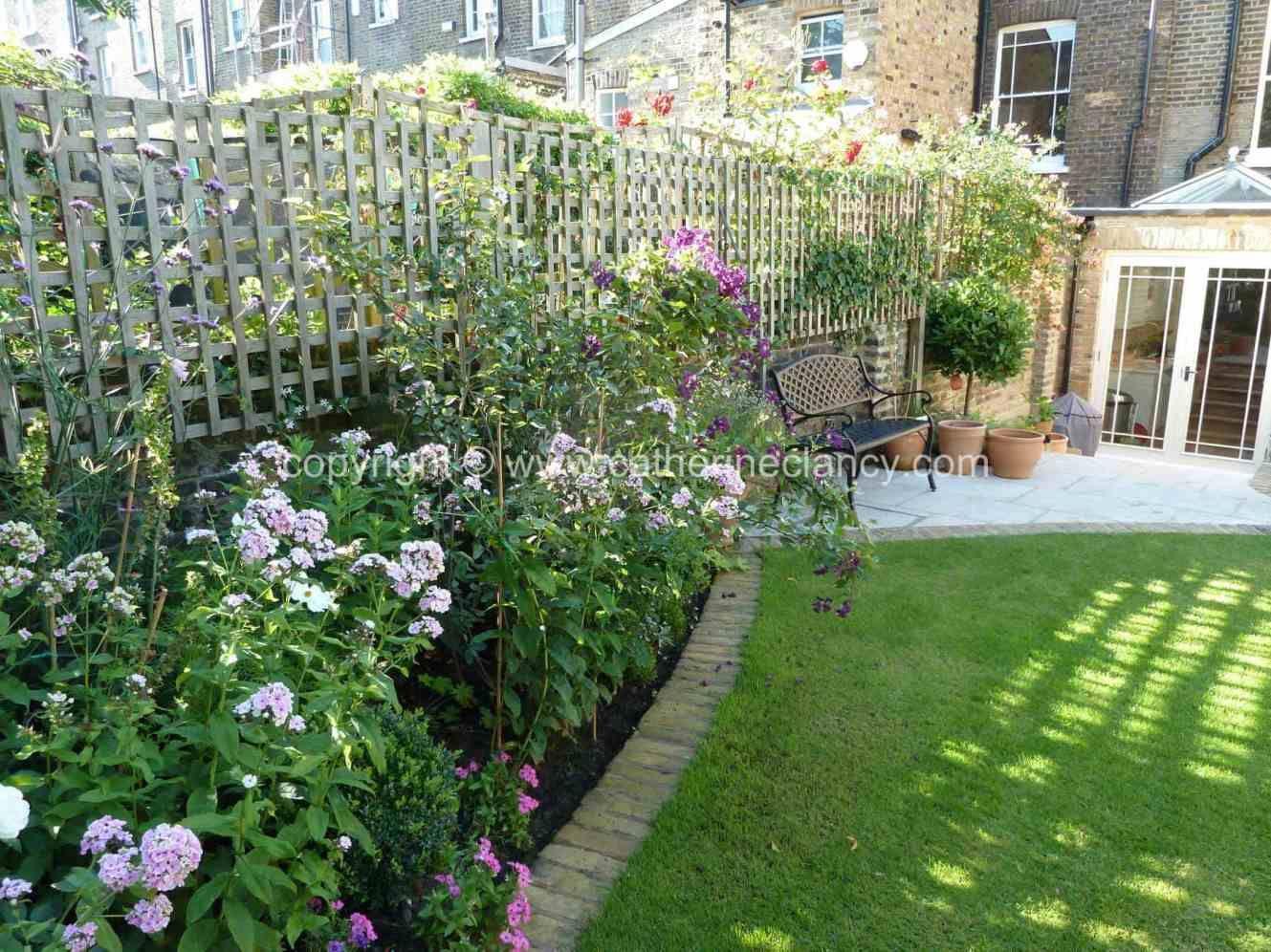 Victorian North Facing Garden North Facing Garden Garden Design London Family Garden