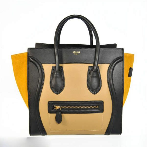 55889a619fb4 Celine Luggage Tote Colors Suede And Leather  Celine-143  - €235 ...