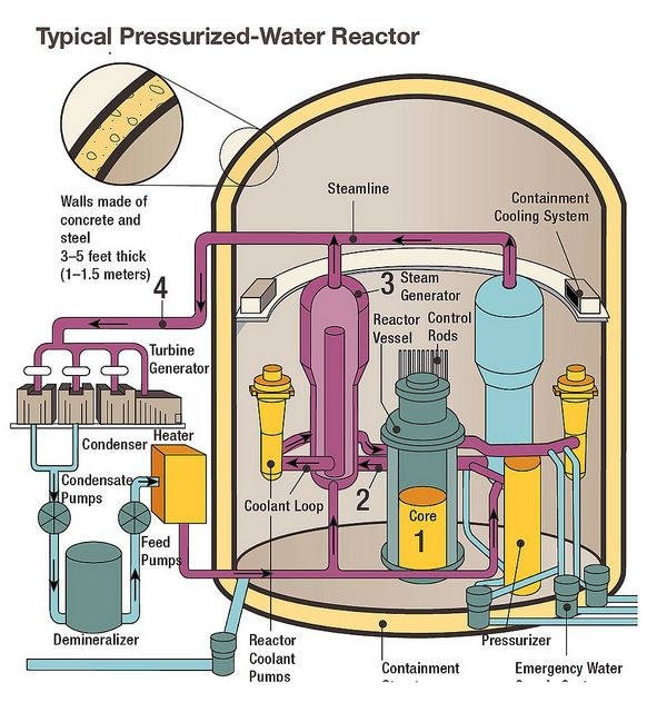 Typical Pressurized Water Reactor Flickr Photo Sharing Nuclear Energy Pressurized Water Reactor Nuclear Power Plant