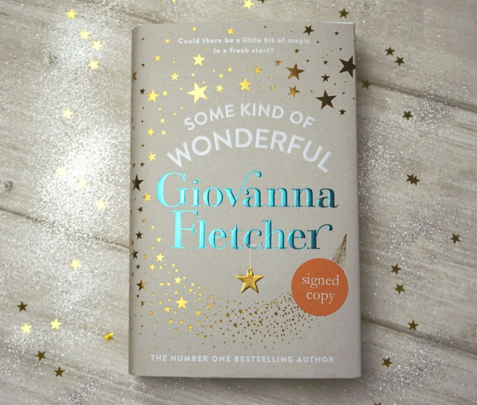 Lifestyle Blogger Blogmas 1 Win a SIGNED Giovanna