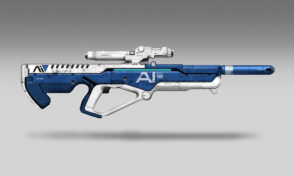 Observer Sniper Rifle - Characters & Art - Mass Effect: Andromeda