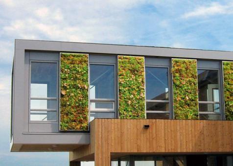 Vertical Gardens Zinco Gmbh Green Facade Green Architecture Green Wall Design