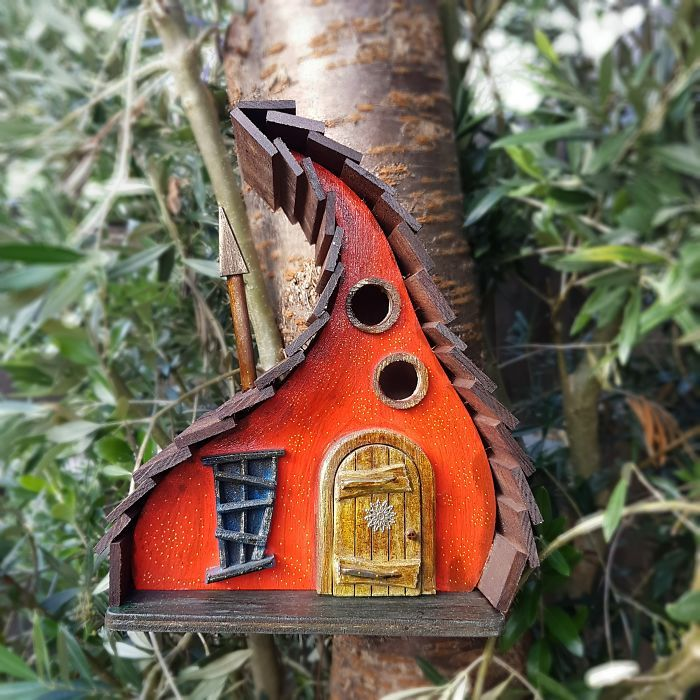 I Build Fairytale Like Birdhouses For The Tiny Creatures That Live In Your Garden Unique Bird Houses Bird House Kits Bird Houses