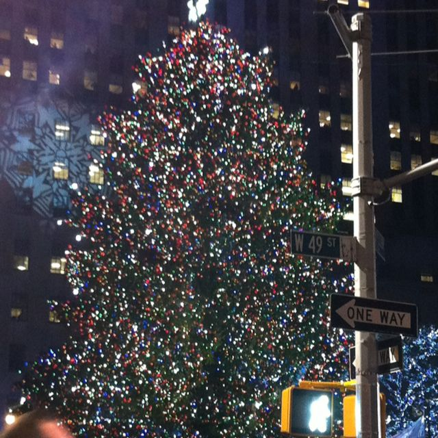 Rockefeller Center Tree lighting