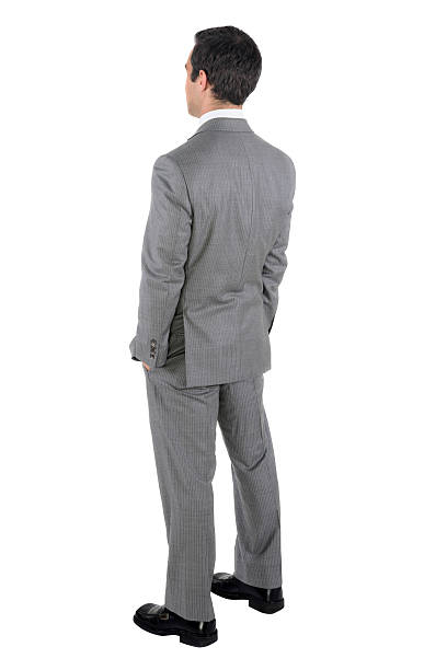 Businessman Standing Business Man Stock Photography White Background