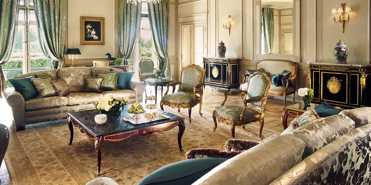 Presidential appartment, Hotel Le Meurice, Paris