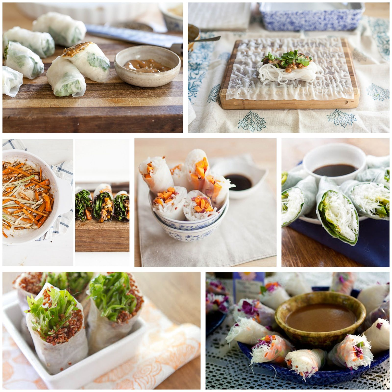 Spring Roll Inspirations