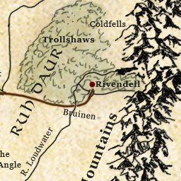 Interactive Map Of Middle Earth Lotrproject Tolkien Pinterest