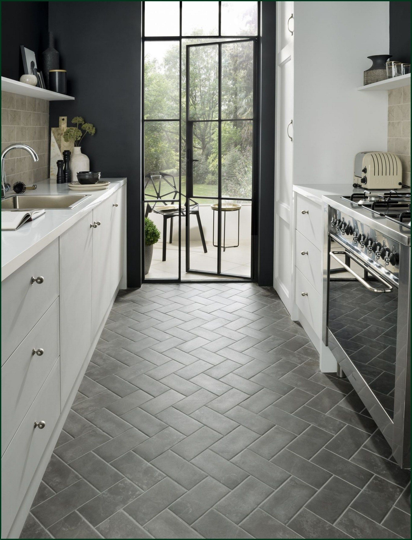 Kitchen Floor Tile Retro Commercial Marble Kitchen Floor Tile In 2020 Kitchen Flooring Kitchen Remodeling Projects Kitchen Floor Tile