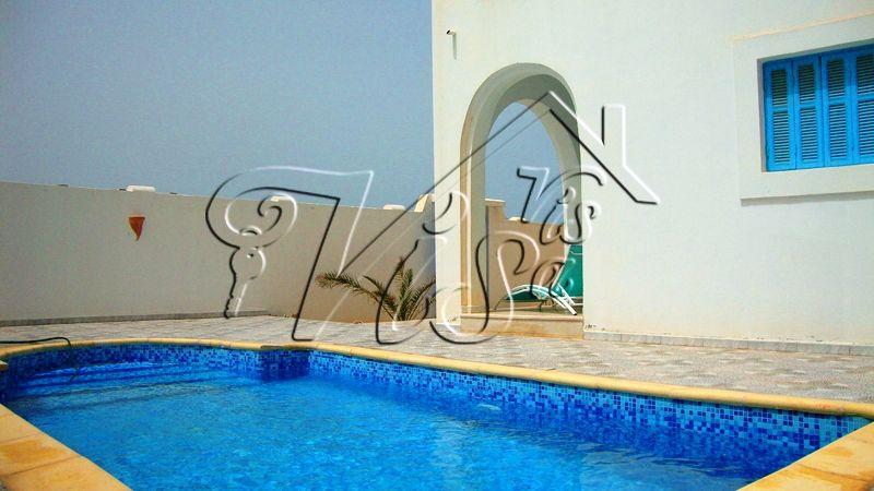 Acheter villa par chère à Djerba Villa avec piscine à partir de - maison de vacances a louer avec piscine