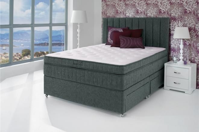 The Kaymed Sumptuous Collection Supplied By Roomes Furniture. This Stylish  Divan Has A Hidden Secret. It Has The Very Latest In Mattress Technology At  Its ...