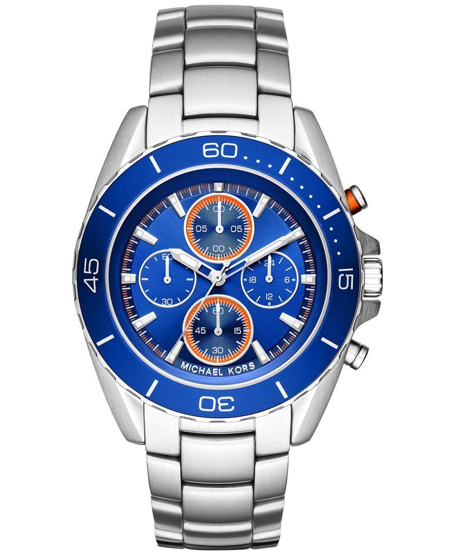 732e7fe61ce Michael Kors Men s Chronograph Jet Master Stainless Steel Bracelet Watch  43mm MK8461. Michael Kors HomemRelógios Michael KorsRelógio Michael ...