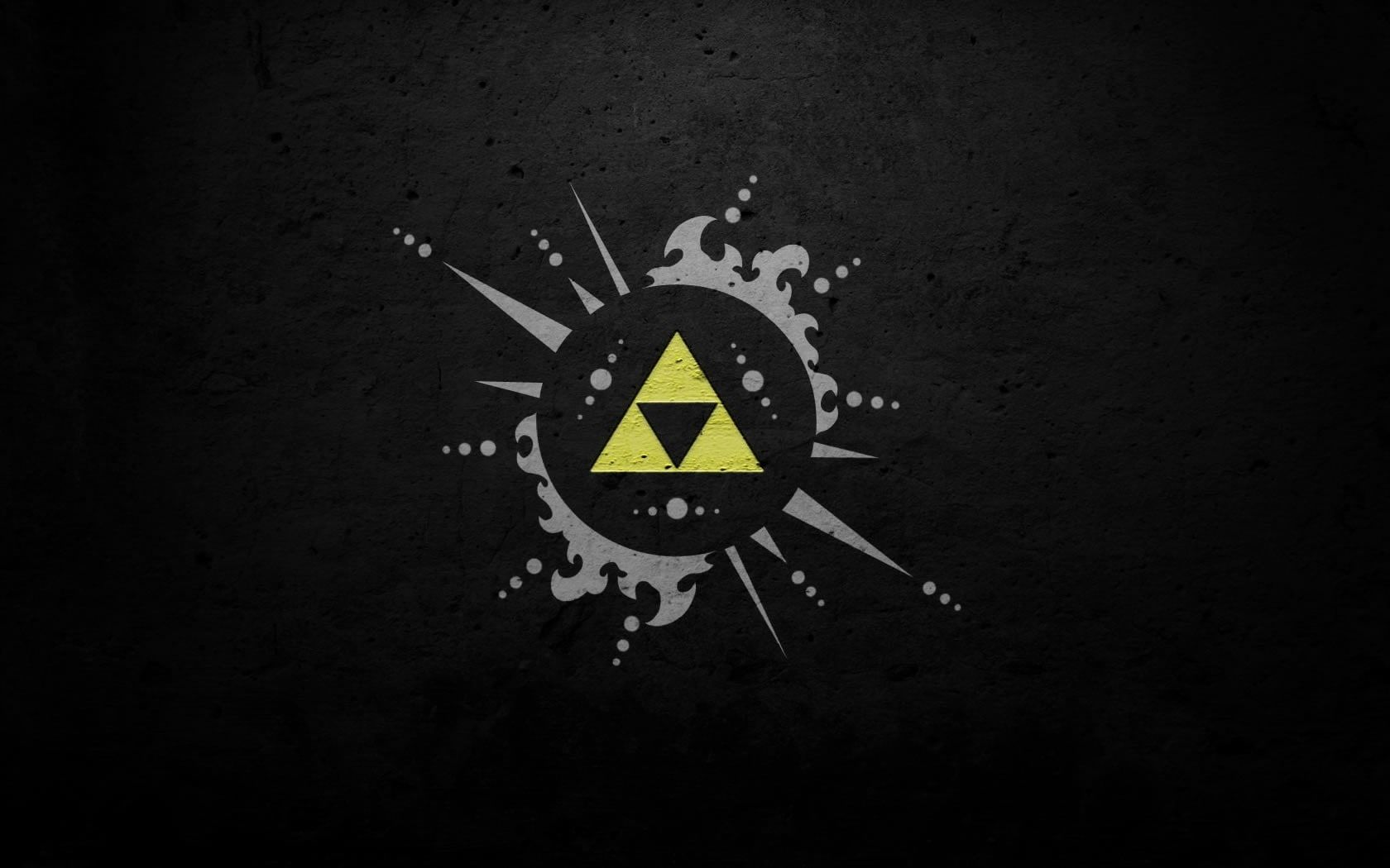 Yellow Triangle Wallpaper The Legend Of Zelda Triforce 720p Wallpaper Hdwallpaper Desktop Zelda Hd Legend Of Zelda Zelda Tattoo