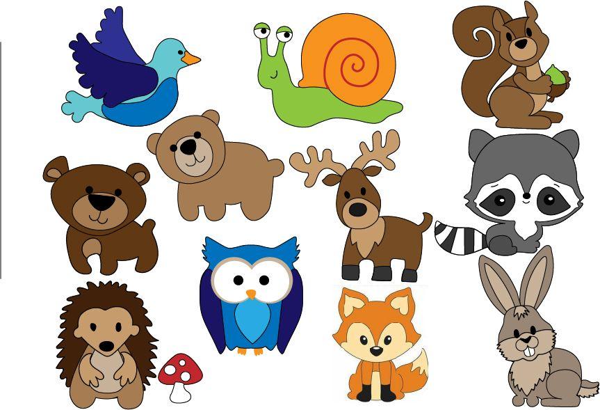 Free Felt Woodland Animal Patterns Felt Animal Patterns Stuffed Animal Patterns Felt Animals