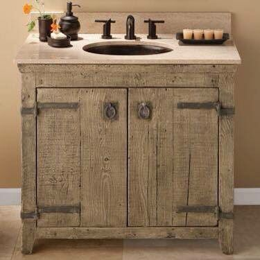 Pallet Vanity Cool Ideas For Your Home Rustic Bathroom