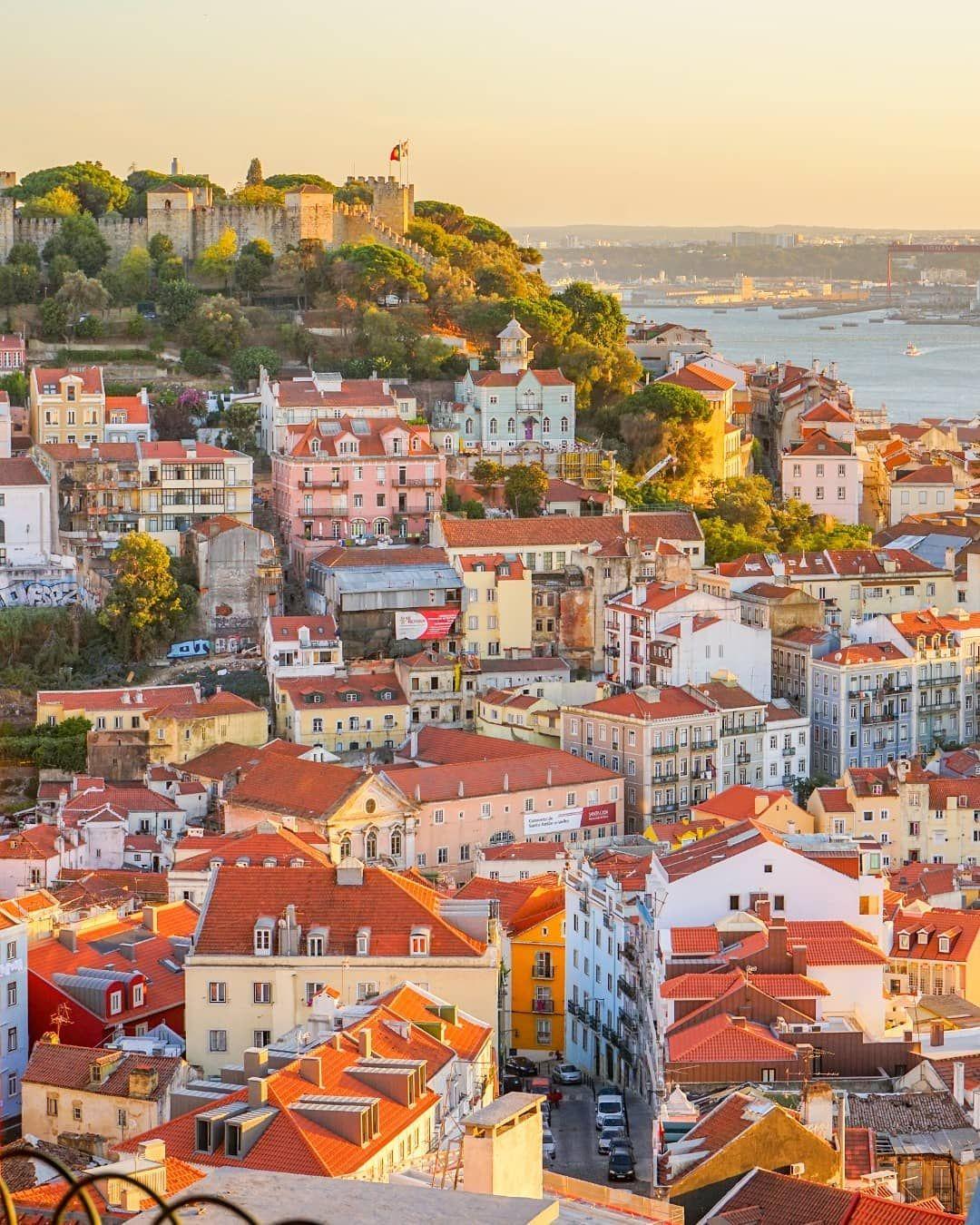 Miradouro Da Nossa Senhora Do Monte Lisboa Portugal