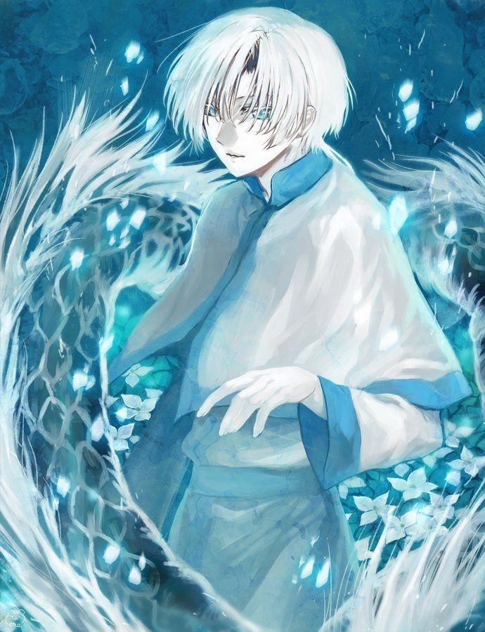 Kija the white dragon screen page stage otaku - Anime boy dragon ...