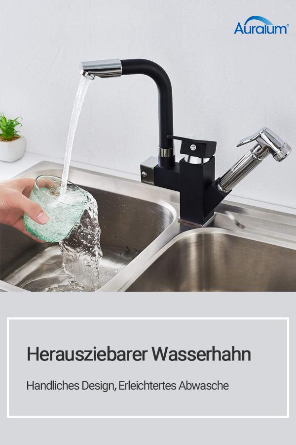 Handliches Design, Erleichtertes AbwascheWasserhahnküche