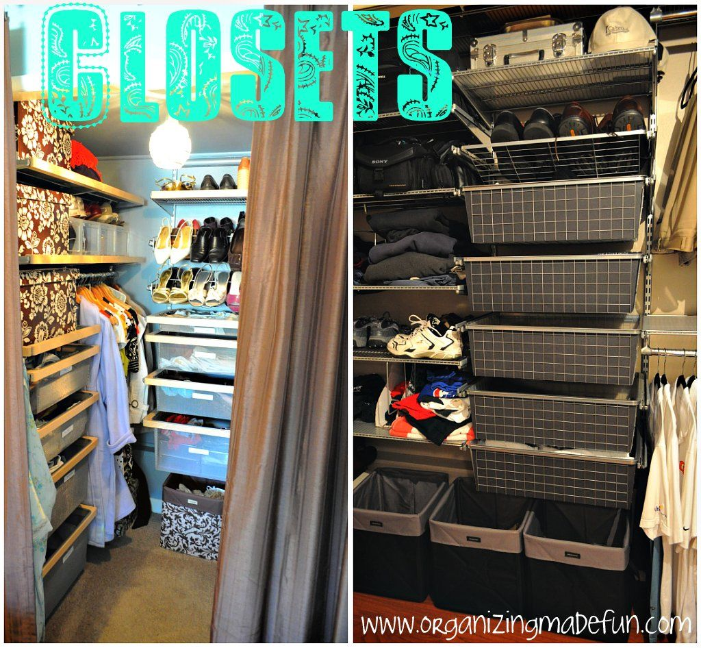 11 Tips For Having An Organized, Grown Up Closet. Via Organizing Made Fun