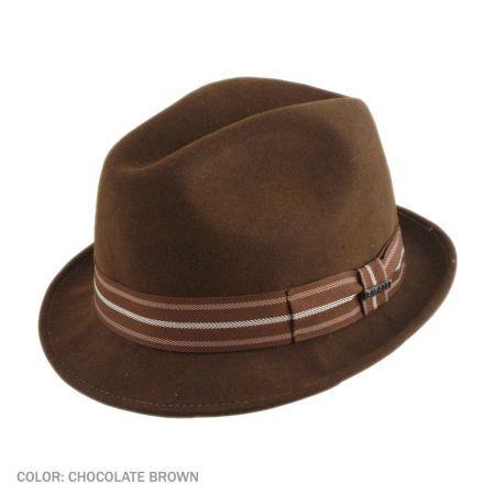 0d86c21ff4e Bigalli California Stingy Brim Fedora Hat