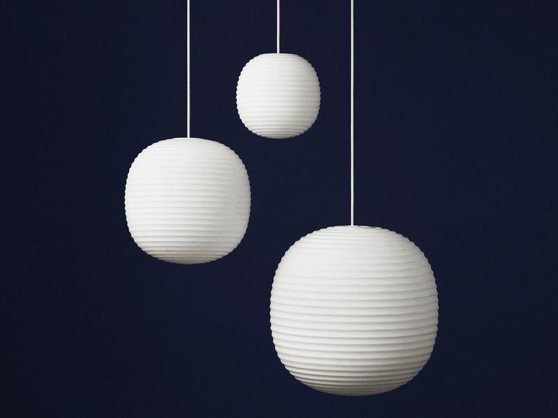 Lampadario Carta Di Riso : New works lantern pendant light pinterest