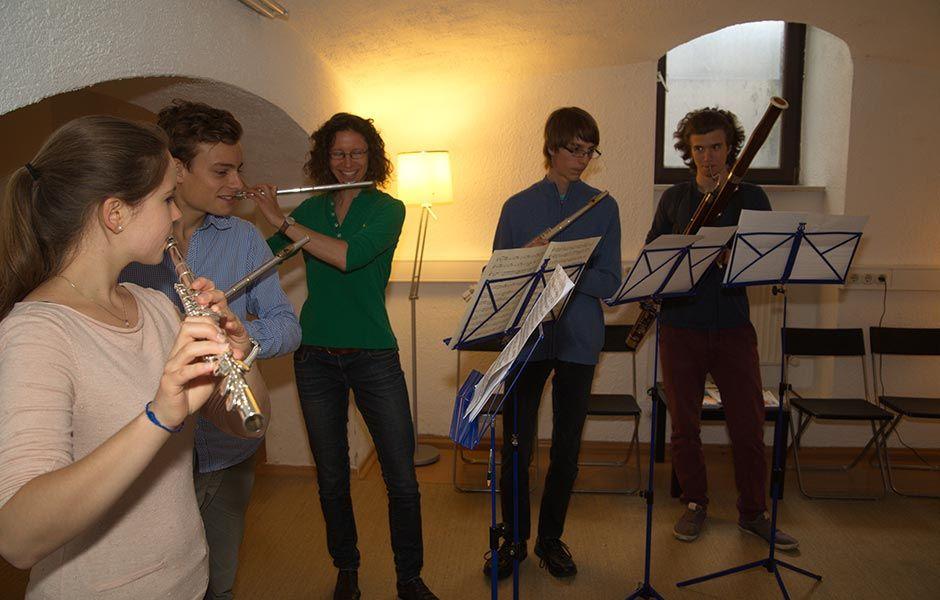 querflötenunterricht  querflöte lernen flöte querflöte