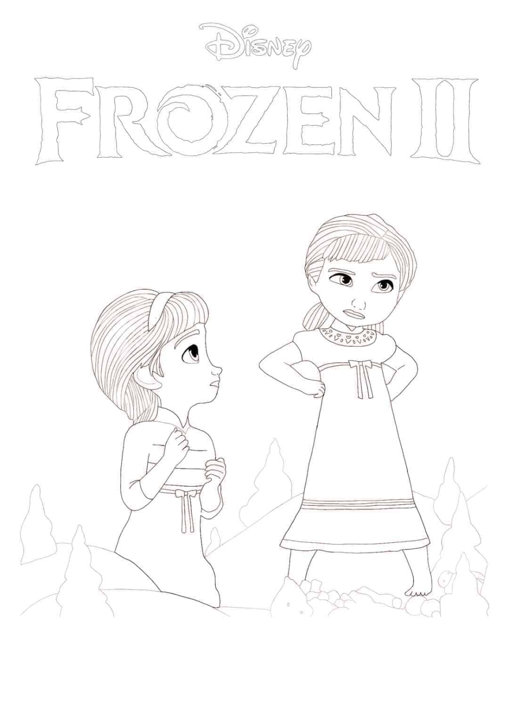 Elsa And Nokk Coloring Pages Display