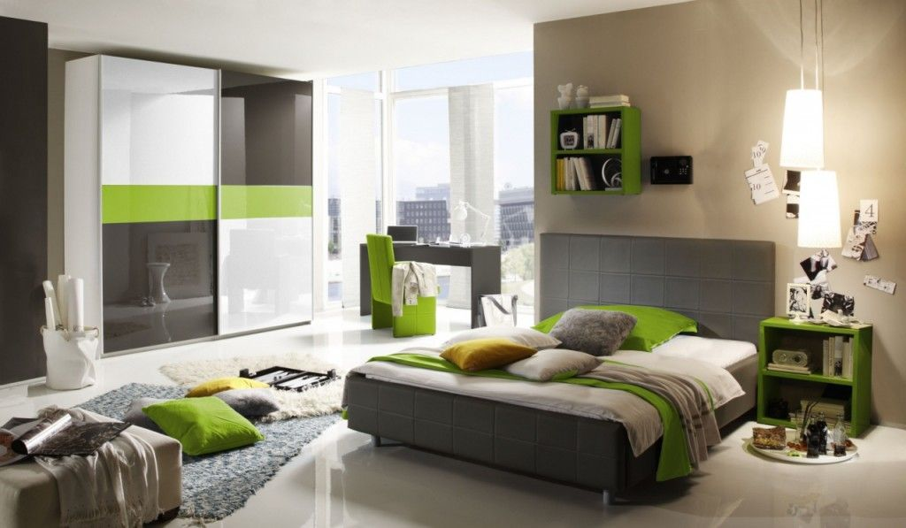 Beige paint color for teen boy bedroom having gray and green - schlafzimmer mit dachschräge farblich gestalten