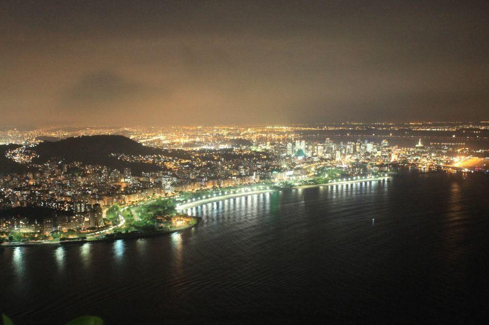 Rio de janeiro de noche. #sinfiltro #conmicámara