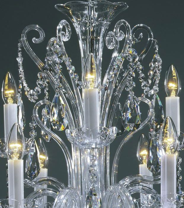 chandeliers Bohemian crystal chandelier with cut crystal – Bohemian Glass Chandelier