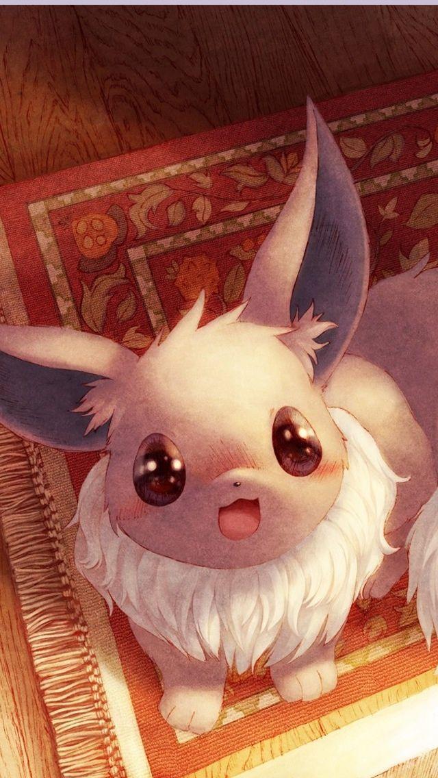 Eevee - Cute Pokemon iPhone Wallpapers @mobile9