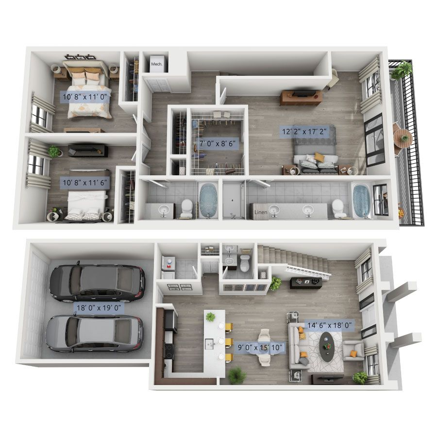 Pin By Sharon Commettant On Arq Small House Plans House Layout Plans Sims House Design