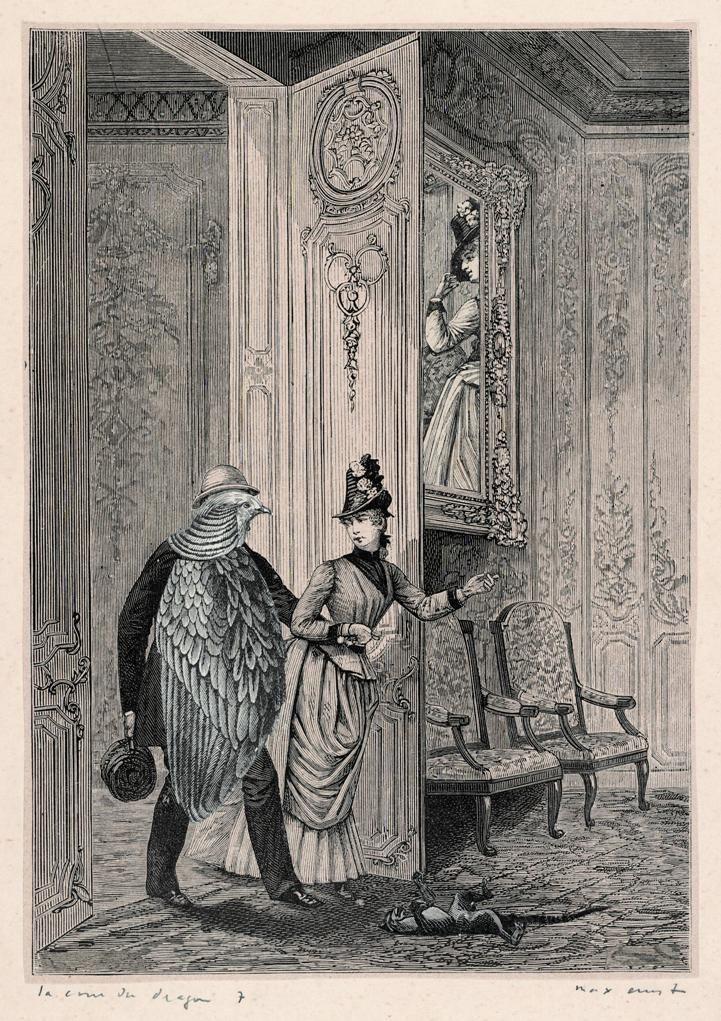 Max Ernst(Макс Эрнст). A Week of KindnessUne semaine de