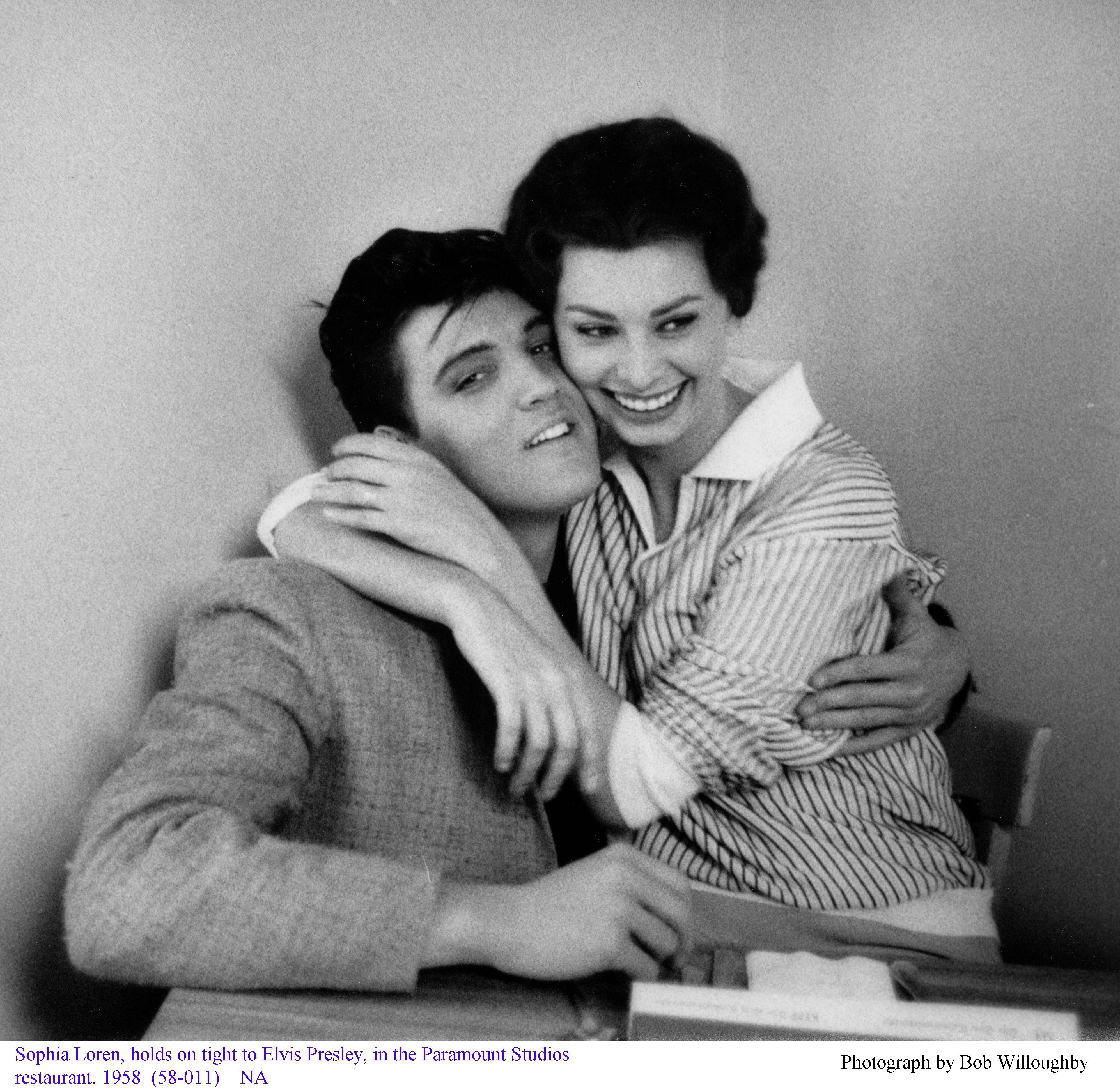 Elvis sophia loren 1948